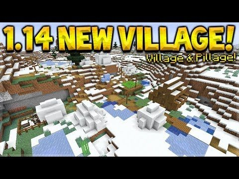 Minecraft NEW Snowy Villages, Berries Added & Raiding Updated! (Minecraft 1.14 18w49a Snapshot)