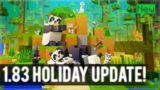 Minecraft PS4 – 1.83 PANDAS HOLIDAY UPDATE! (Secret Features Hunt!)
