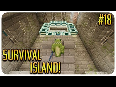 ✅ MINECRAFT – SURVIVAL ISLAND – THE STRONGHOLD! Episode 18