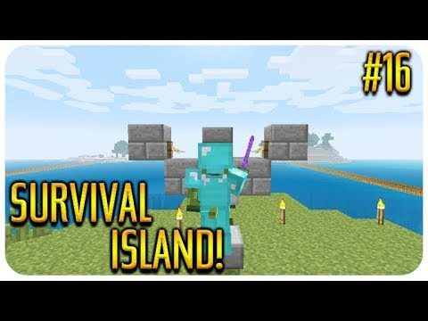 ✅ MINECRAFT – SURVIVAL ISLAND – THE ZOMBIE CURE! Episode 16