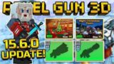 NEW 15.6.0 UPDATE! MAX LEVEL 45 GOLD WEAPONS, MAPS & CHRISTMAS BATTLE ROYALE | Pixel Gun 3D