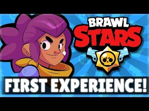 THIS IS MY FIRST EXPERIENCE PLAYING THIS GAME EVER! | Brawl Stars!