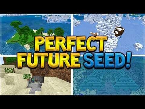 THIS SEED IS FOR THE FUTURE OF MINECRAFT PLAYERS! (MCPE, Xbox, Switch, PC)