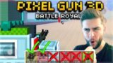 YOU CAN ONLY USE DUAL WEAPONS! I CAN'T BELIEVE THIS HAPPENED! Battle Royale Challenge | Pixel Gun 3D