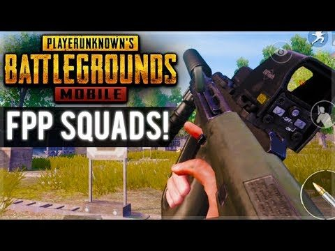 ✅[ENG] PUBG MOBILE | FIRST PERSON HIGH KILLS! | SQUAD CHICKEN DINNERS!