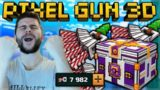 GOING FOR RECORD AMOUNT OF KILLS IN BATTLE ROYALE SPENDING 8,000 KEYS! | Pixel Gun 3D