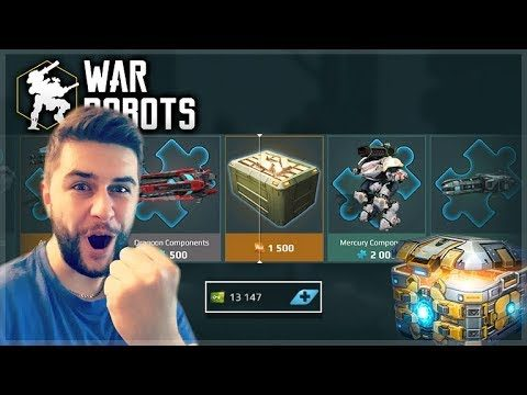 I BOUGHT 13,000 KEYS FOR CHESTS! WE MADE IT TO GOLD LEAGUE! RAIJIN TANK | War Robots