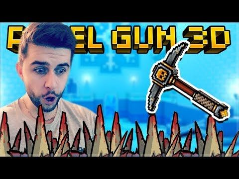 I CRAFTED THE LEGENDARY GOLD FEVER MELEE WEAPON AND IT'S INSANE! | Pixel Gun 3D