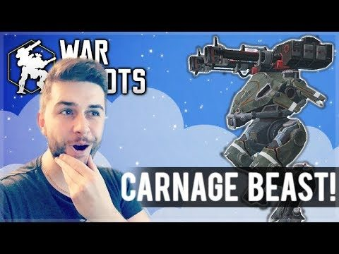 I USED MY NEW CARNAGE TRIDENT COMBO AND WE WON EVERY GAME! | War Robots
