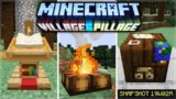 Minecraft 1.14 – First 2019 Snapshot NEW Working Campfires! Active Lectern & Cartography Table