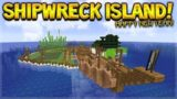 MINECRAFT 1.14 – SHIPWRECK SURVIVAL ISLAND! FINAL 2018 LIVESTREAM! (Dinnerbone Seed)
