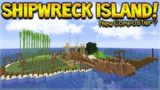 MINECRAFT 1.14 – SHIPWRECK SURVIVAL ISLAND! NEW COMPOST FERTILISER (Dinnerbone Seed)