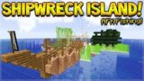 MINECRAFT 1.14 – SHIPWRECK SURVIVAL ISLAND! THE AFK MACHINE! (Dinnerbone Seed)