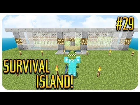 ✅ MINECRAFT – SURVIVAL ISLAND – THE ENDER-DRAGON IS COMING! Episode 29