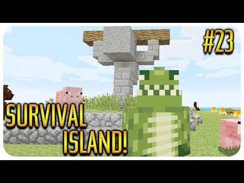 ✅ MINECRAFT – SURVIVAL ISLAND – WITHER HEAD HUNTER! Episode 23