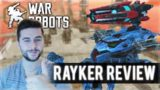 NEW RAYKER ROBOT WITH DRAGOON COMBO! I MADE IT TO DIAMOND LEAGUE! | War Robots