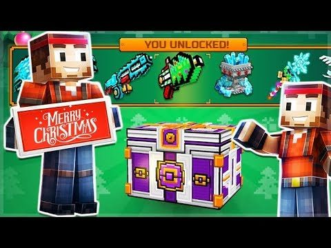 OPENING 3 CHRISTMAS SUPER LOTTERY CHESTS! THE HUNT FOR THE SABERTOOTH PET! | Pixel Gun 3D