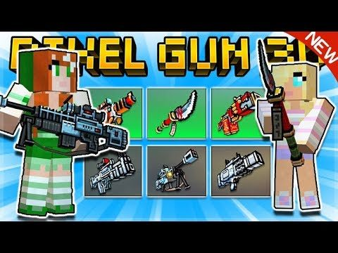 PIXEL GUN 3D 15.9.0 UPDATE – NEW BATTLE PASS, WEAPONS, GAME-MODE & MORE! | Pixel Gun 3D
