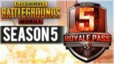 PUBG MOBILE SEASON 5 – ELITE ROYALE PASS RANKING UP | SQUAD WINS! (PUBG Mobile)