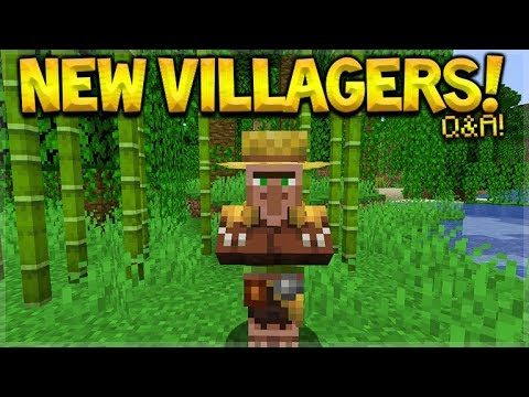 Should Dogs Be Added To The Game? – NEW Villagers & Trades Minecraft Questions