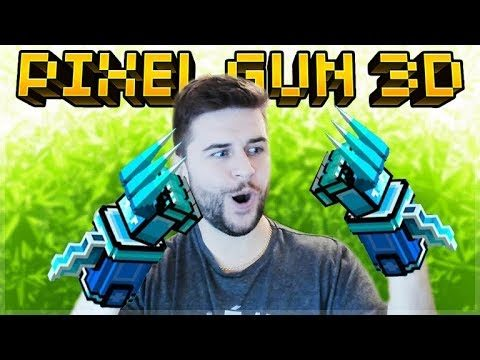 THESE ARE THE BEST MELEE WEAPON IN THE GAME NOW ICE PAWS OF DEATH | Pixel Gun 3D