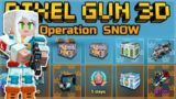 THIS IS THE BEST BATTLE PASS YET OPERATION SNOW – FREE CHESTS, GEMS & WEAPONS | Pixel Gun 3D