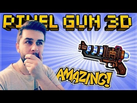 THIS IS THE PIXEL GUN RAY GUN! MYTHICAL LAMP REVOLVER REVIEW | Pixel Gun 3D