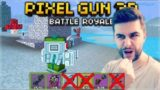 YOU MUST USE ROYALE WEAPONS ONLY CHALLENGES! BATTLE ROYALE! | Pixel Gun 3D