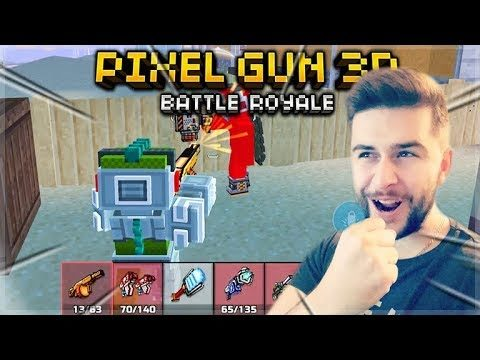 YOU MUST WIN 3 MATCHES IN A ROW BATTLE ROYALE CHALLENGES | Pixel Gun 3D
