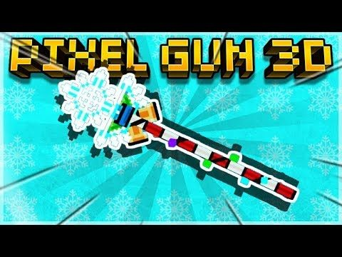 CRAFTING THE MYTHICAL WINTER STAFF MELEE WEAPON BUT IS IT GOOD ENOUGH! Pixel Gun 3D