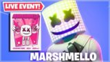 FORTNITE: MARSHMELLO LIVE EVENT HAPPENING NOW!! (Fortnite Battle Royale EVENT)