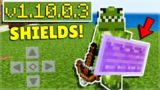 How To Use SHIELDS In Minecraft Pocket Edition 1.10 BETA!