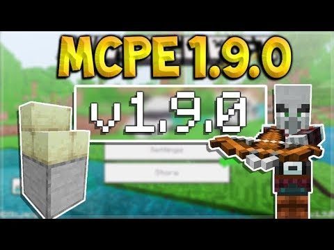 MCPE 1.9 THE BLOCK UPDATE! Minecraft Pocket Edition – Builders Update & Pillagers