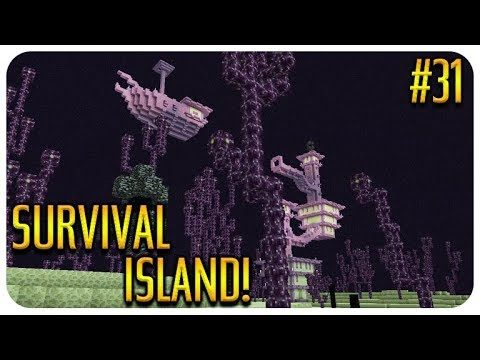✅MINECRAFT – SURVIVAL ISLAND – TO THE END CITY! Episode 31