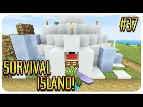 ✅MINECRAFT – SURVIVAL ISLAND – UNDERWATER PASSAGE! Episode 37
