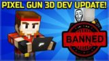 NEWS FROM DEVELOPERS! – CAMPAIGN WORLD 4 IS 95% COMPLETE, CHEATERS & HACKERS BAN | Pixel Gun 3D