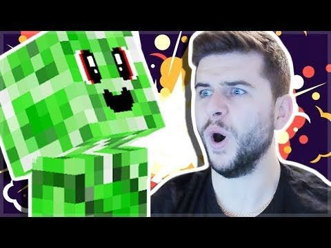 Working At The CREEPER Factory In Minecraft