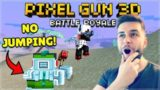 YOU CAN NOT JUMP OR YOU FAIL CHALLENGE BATTLE ROYALE | Pixel Gun 3D
