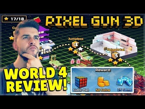 CAMPAIGN WORLD 5 WILL BE COMING & CAMPAIGN 4 REVIEW + REWARDS | Pixel Gun 3D