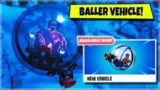 FORTNITE: SEASON 8 – NEW BALLER VEHICLE GAMEPLAY! (iOS, Android, Xbox, PS4, Switch!)