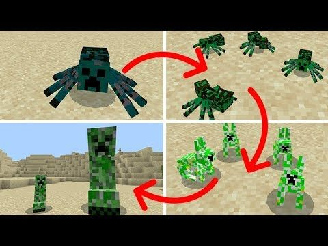 if CREEPERS ever EVOLVED IN MINECRAFT!! (Bunny Creepers!)