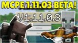MCPE 1.11.0.3 BETA PILLAGER RAIDS! Minecraft Pocket Edition Ravager Beast Raiding & More!