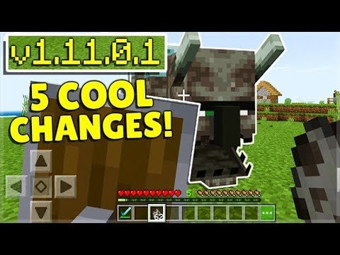 MCPE 1.11 BETA! Minecraft Pocket Edition – 5 Cool Tips & Tricks To Remember