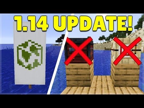 Minecraft 1.14 New Snapshot – Globe Banner Pattern, TNT Mining now OP & Removed Features