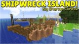 MINECRAFT 1.14 – SHIPWRECK SURVIVAL ISLAND – BIG CHANGES COMING! (Dinnerbone Seed)