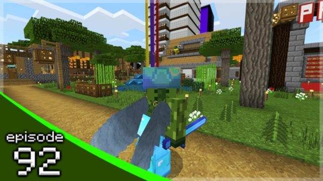 MINECRAFT PE 1.9 THE STATUE BUILDS! – Soldier Adventures Season 3 (92)