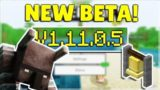 MINECRAFT PE/BEDROCK 1.11.0.5 BETA – VILLAGE & PILLAGE! Minecraft Pocket Edition NEW Changes