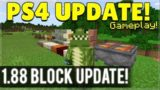 Minecraft PS4 – 1.88 NEW BLOCK UPDATE GAMEPLAY! (Secret Features Hunt!)