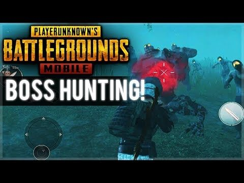 PUBG MOBILE ZOMBIE MODE – BOSS BATTLE HUNTING (PUBG Mobile)