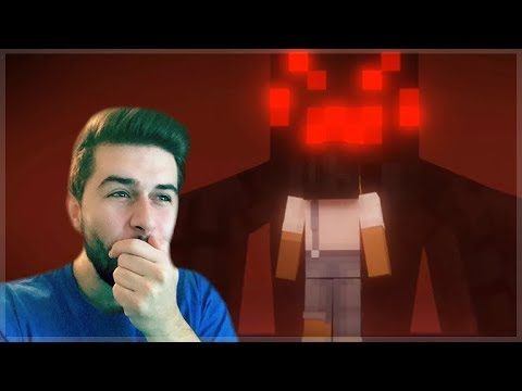REACTING TO THE LAST GIFT MINECRAFT MOVIE! Minecraft Animations